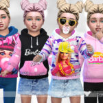 Pinkzombiecupcakes' Barbie Hoodie Collection