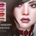 Pralinesims' Strawberry Milkshake Lipstick N110