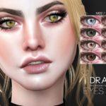 Pralinesims' Draco Eyes N122