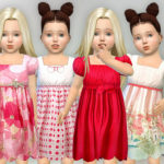 lillka's Toddler Dresses Collection P06