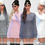 "Pinkzombiecupcakes' Sweater Dress Collection ""Mina"""