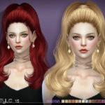 S-Club's sclub ts4 hair Ariana n15