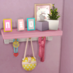madoof Simlish Alphabet Photo Frame