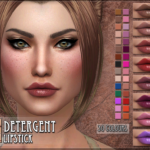 RemusSims • Detergent Lipstick for TS4 :)DOWNLOAD All previews…