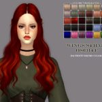Shiny, smooth texture Custom CAS image HQ mod… – ANGISSI