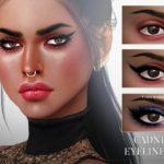 Pralinesims' Cadnix Eyeliner N61