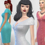 Colores Urbanos' Paloma dress v. Tubo (original mesh)