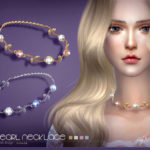 S-Club LL ts4 necklace N16