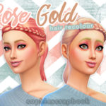 sophiescrapbook's Rose Gold Hair – Braid Ponytail Recolour