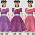 Colores Urbanos' Sofi dress RECOLOR lace (Needs mesh)