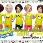 Toddlers SpongeBob Shirts