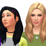 Have this little 90s inspired mini hair pack! I… – L U U M I A S I M S