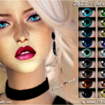 EYES -Cat's LOOK 18 colors  ❤️ Custom CAS image… – ANGISSI
