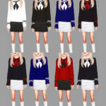 Meeyou world | Child version sailor top 20 swatches /top tap /…
