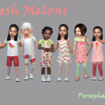 Persephaney — Fresh Melons – New toddler girl set <3 Set…