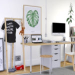MXIMS – IKEA Alex Linnmon Desk IKEA Marius Stool Bilbao…