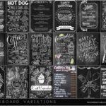 Pralinesims' Chalkboard Variations