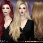 S-Club's sclub ts4 hair Rose n18 (update07/04/2017)