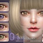 S-Club LL ts4 Eyecolor 201701