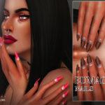 Pralinesims' Eumacia Nails N18