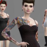 Colores Urbanos' Mini dress 3 (original mesh)