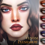 Pralinesims' Venom Eyeshadow N52