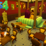 Sims 4 Disney Stuff Be Our Guest Restaurant