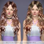 Jennisims: Downloads sims 4:NewseaNightWish Hair retexture