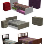 Around the Sims 4 | Custom Content Download |IKEA Malm & Hemnes Bed Frames