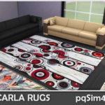 Carla Rugs. Sims 4 Custom Content.