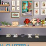 Natural Clutter 1. Sims 4 Custom Content.