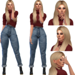 Avasims4cc – Fall Collection: Outfit #2 like and repost, love…