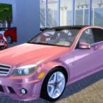 Mercedes-Benz C63 AMG 2010- 14 Colors – Detailled… – OceanRAZR Design