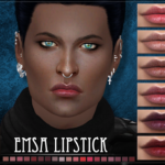 RemusSims • EMSA Lipstick for the Sims 4DOWNLOAD HQ mod…