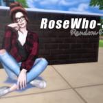 Random Pose #2 – RoseWho-Sims