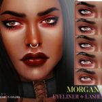 Pralinesims' Morgana Eyeliner N64
