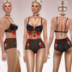 EsyraM's Rose Garten Embroidered Sets