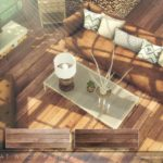 Pralinesims' Nougat Wood Planks