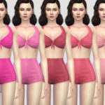 Colores Urbanos' Pin up Swimwear 1 RECOLOR 1 (Needs mesh)