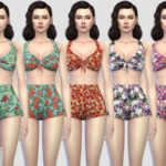 Colores Urbanos' Pin up Swimwear 1 RECOLOR 3 (Needs mesh)
