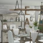 ~ Chicklet's Nest ~: Farmhouse Chic Dining Room