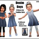 Denim Days -Original Content- | Sims 4 Nexus