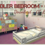 Sims 4 – Toddler Bedroom – Girl (Download + CC Links) – Dinha