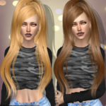 Mesh and alpha edit hair 029 and 151 – Original… – Deep Space