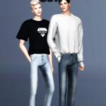 SIMSCLUB — [SIMSCLUB] Skinny Pants