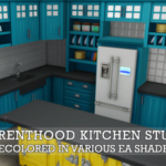 Parenthood kitchen stuff in a bunch of colors