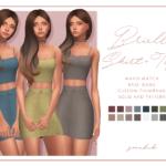 smubuh♡Brielle Skirt & Top♡