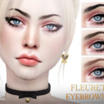 Pralinesims' Fleuret Eyebrows N111