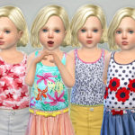 lillka's Toddler Girl Tank Top P01