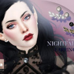 Pralinesims' Nightfall Earrings